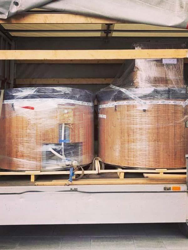 montaz dostawa balii ogrodowej