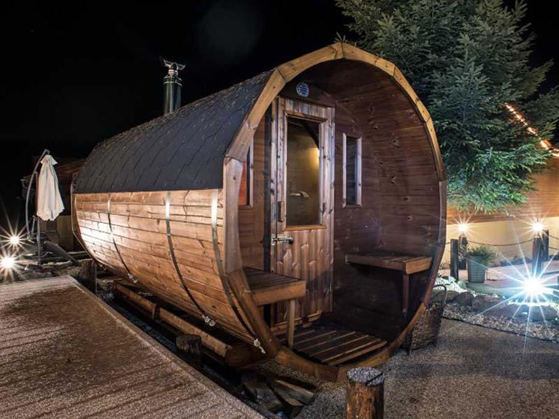 instalacja sauny ruskiej bani
