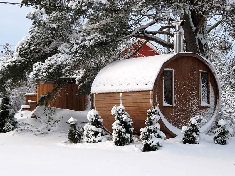 ceny saun ogrodowej