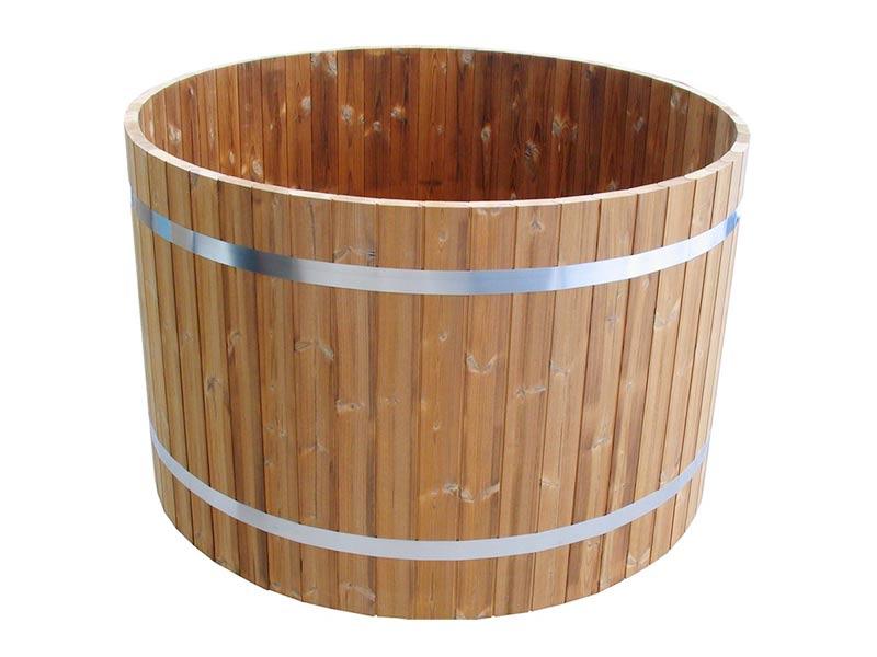 drewniana balia do schładzania