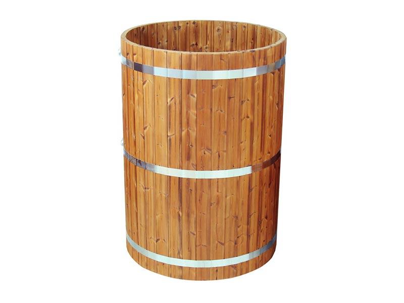 drewniana beczka do schładzania