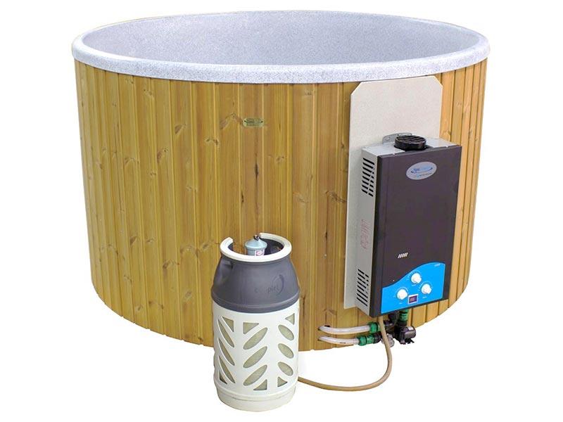 balia ogrodowa simple gaz