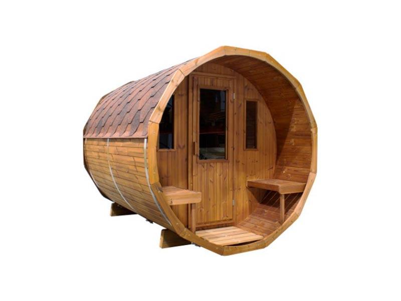 sauna ruska bania barrel