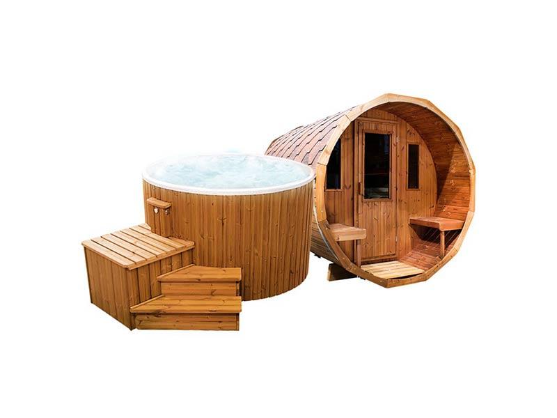 ogrodowe spa balia sauna ruska bania