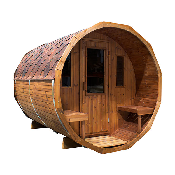 ogrodowa sauna ruska bania beczka