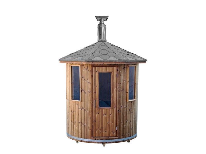 Sauna ogrodowa beczka TUBE