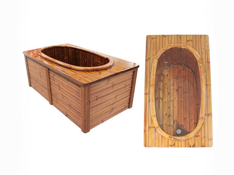 Wanna drewniana luksusowa SPA